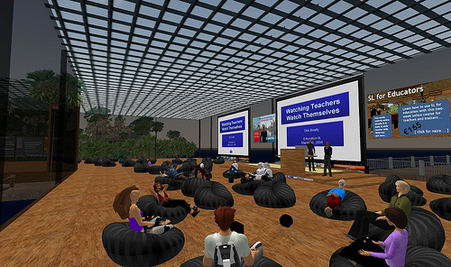 Screen Capture from a PD in Second Life
